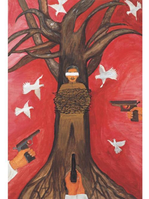 Art work by comfort woman