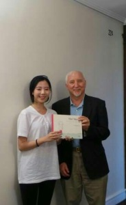 Jessie donated 'Her Tears' to Nassau City Holocaust Museum.