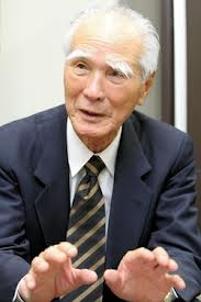 Tomichi Murayama, the former prime minister of Japan