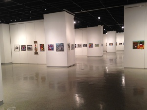 The 'Hero' exhibition features the paintings of war survivors, victims and related stories.