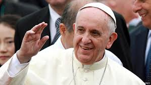 Pople Francis who visited S.Korea for 5 days.