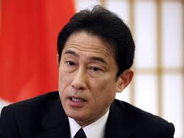 Japan's minister, Fumio Kishida